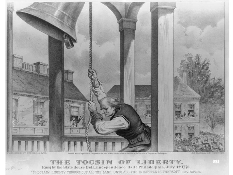 The Tocsin of liberty