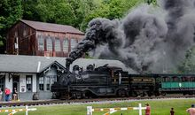 Railroading the Alleghenies photo
