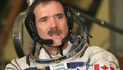 Someone Found Chris Hadfield's Flight Suit in a Thrift Store