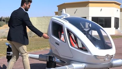 Are Dubai's Drone Taxis For Real?