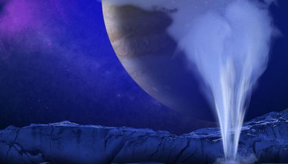 How Could We Detect Life in Europa's Geysers?