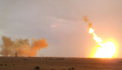 VIDEO: Rocket Crash in Kazakhstan
