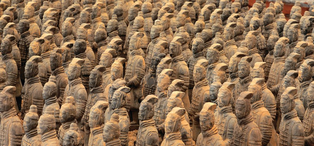 The Terra-Cotta Warriors of Xi'an