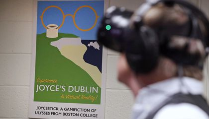 "Image: Turning James Joyce's ""Ulysses"" into a virtual reality game"