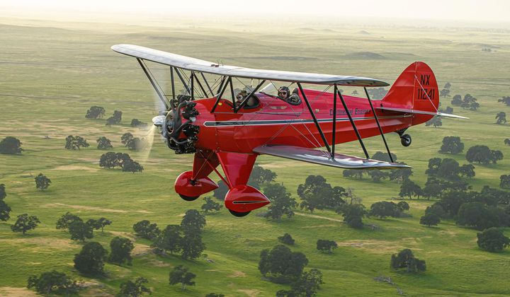 Airplane of the Year Honors Go to 1931 Waco