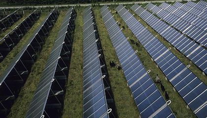 Photovoltaic panels in Denmark