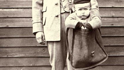 A Brief History of Children Sent Through the Mail