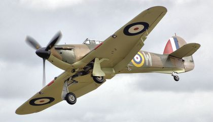hurricane mk1 r4118 fairford arp