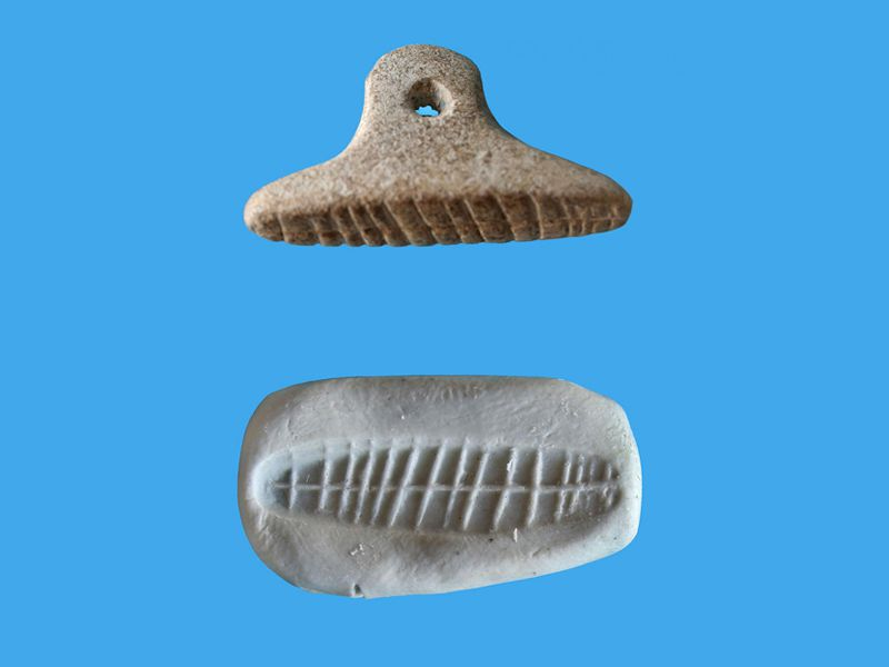 7,000-Year-Old Seal Impression Found in Israel Offers Clues to Prehistoric Trade
