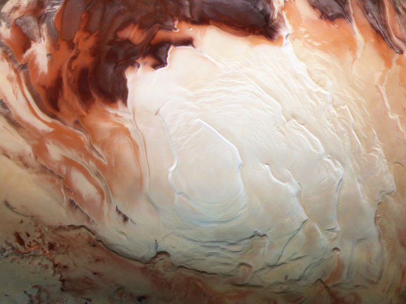 Scientists discover huge lake on Mars