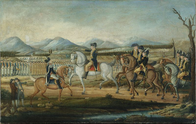 troops armed by the 1792 Militia Act