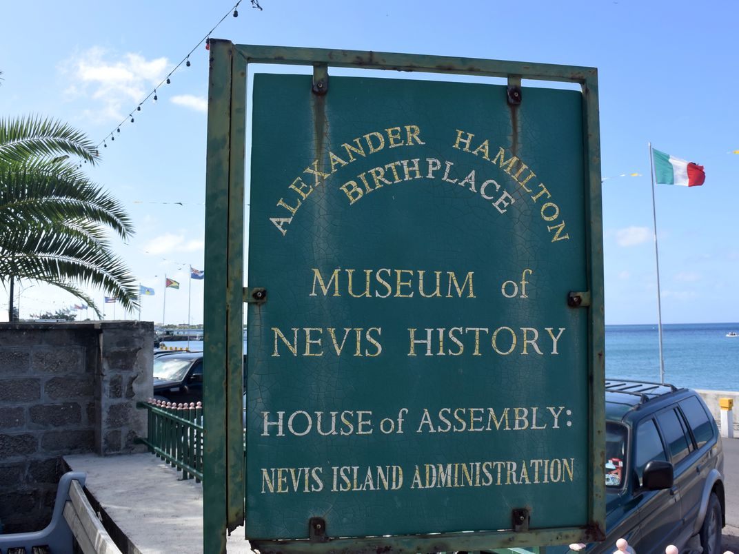 Walk in the Footsteps of Alexander Hamilton on This Tiny Caribbean Island
