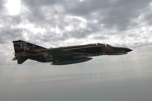 The first flight of the F-4 was 50 years ago today.