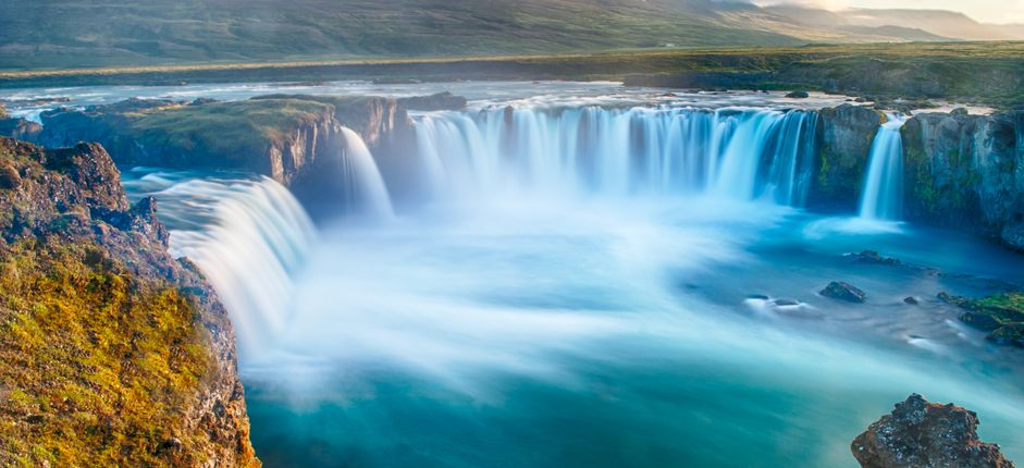 Iceland Voyage <p>This unique cruise, which circumnavigates the island, offers an exceptional opportunity to experience Iceland, unlike most visitors who travel by land. You'll go off the beaten path to places of immense beauty and interest by boat, as the Vikings did when they first arrived.</p>