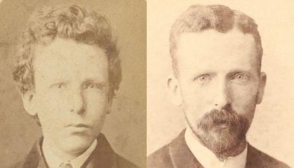 Rare Photo of Vincent van Gogh Likely Depicts the Artist's Brother