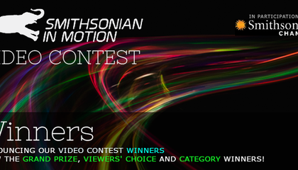Announcing the Winners of the 2013 Smithsonian In Motion Video Contest