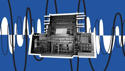 The World's First Synthesizer Was a 200-Ton Behemoth