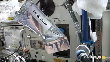 These Astronauts Drink Recycled Urine to Stay Hydrated