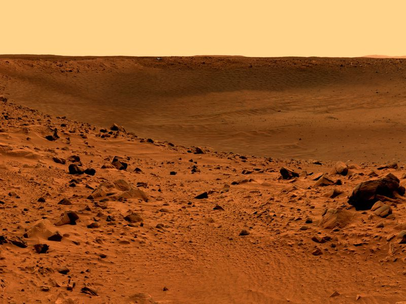 Mars Surface May Be Too Toxic for Microbial Life | Smart ...