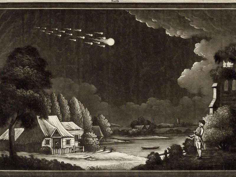 1280px-Astronomy;_a_meteor_shower_in_the_night_sky._Mezzotint._Wellcome_V0024753.jpg