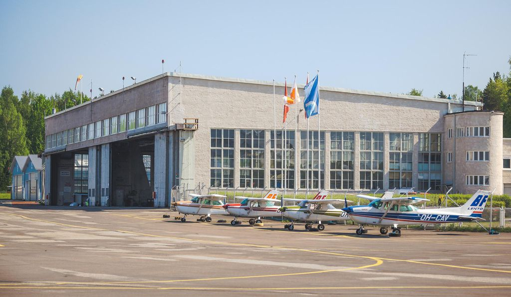 Today, this 1930s airport is Finland's second-busiest.