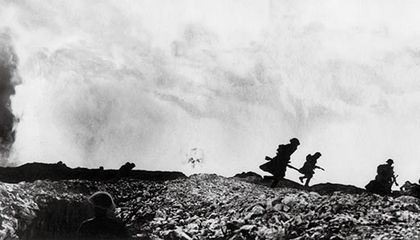 World War I British troops Battle of Arras