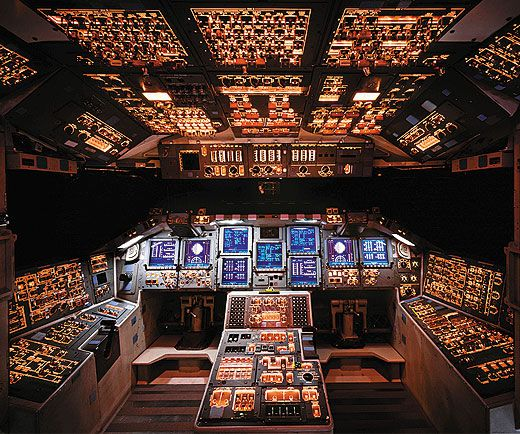 space shuttle cockpit displays - photo #8