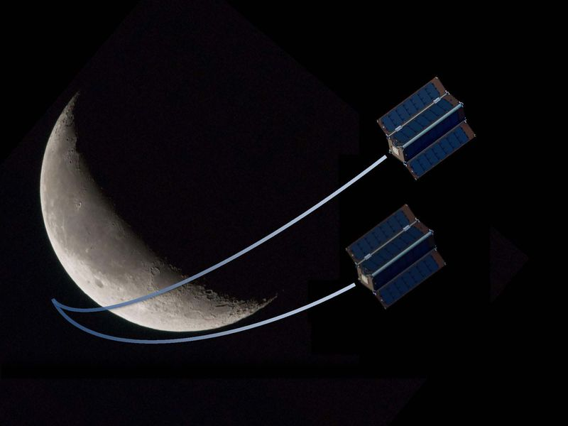 CubeSats to the Moon (Mars and Saturn, Too) | Space | Air