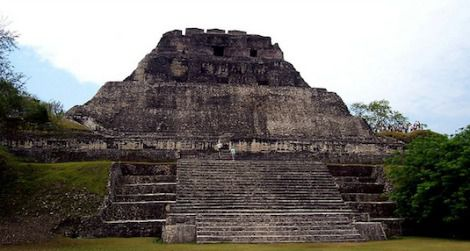 Another Mayan Ruin in Belize. Not the one that was destroyed.