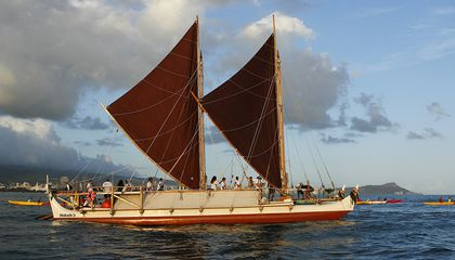For Four Years, This Polynesian Canoe Will Sail Around the World Raising Awareness of Global Climate Change