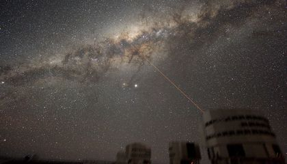 The Milky Way is Stealing Other Galaxies' Gases