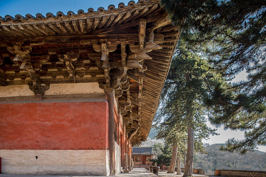 Prior To Liang And Lin The Style Of Roof Used For Foguang Was Known Only From Paintings Literary Descriptions Stefen Chow