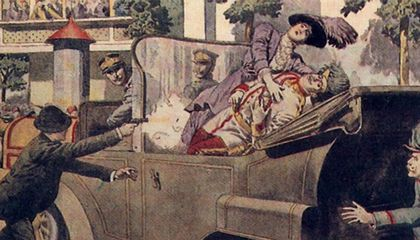 Curses! Archduke Franz Ferdinand and His Astounding Death Car