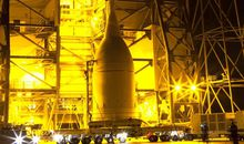 Time-Lapse of Orion's Trip to the Launch Pad