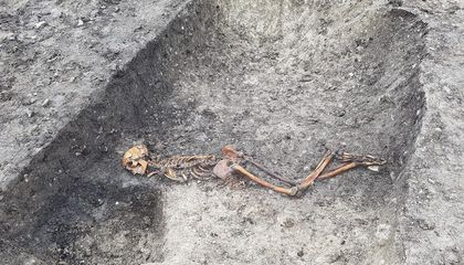 Iron Age Murder Victim's Skeleton Found in England