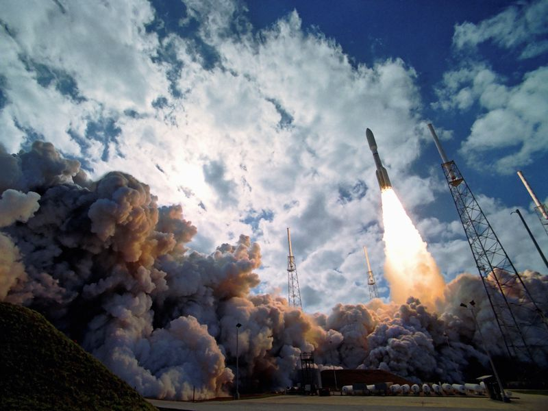 Atlas V Launches the New Horizons Mission to Pluto.