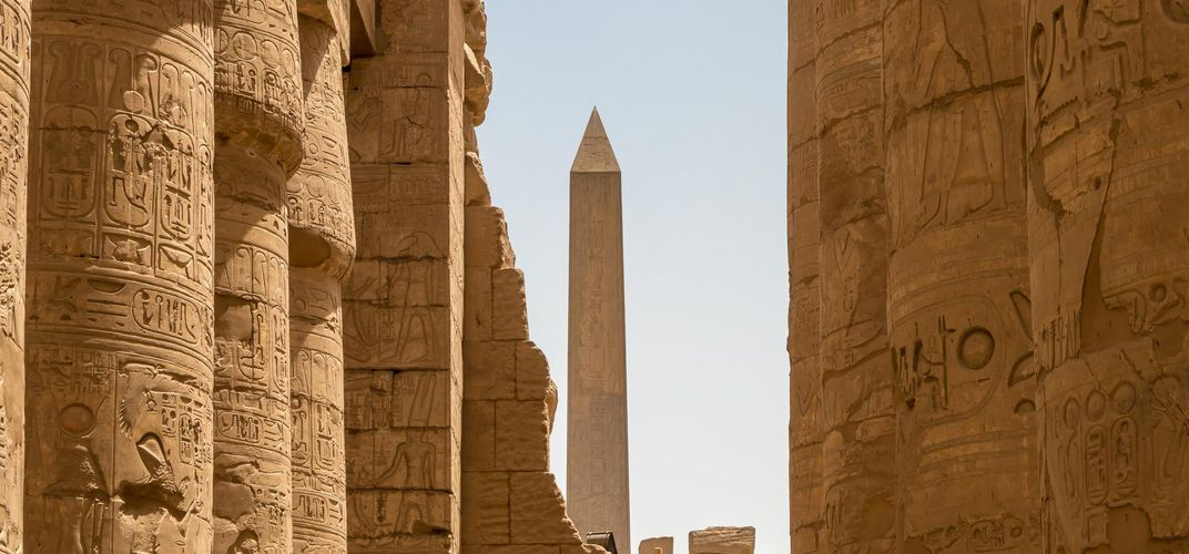 Obelisk at the Temple of Karnak, Luxor