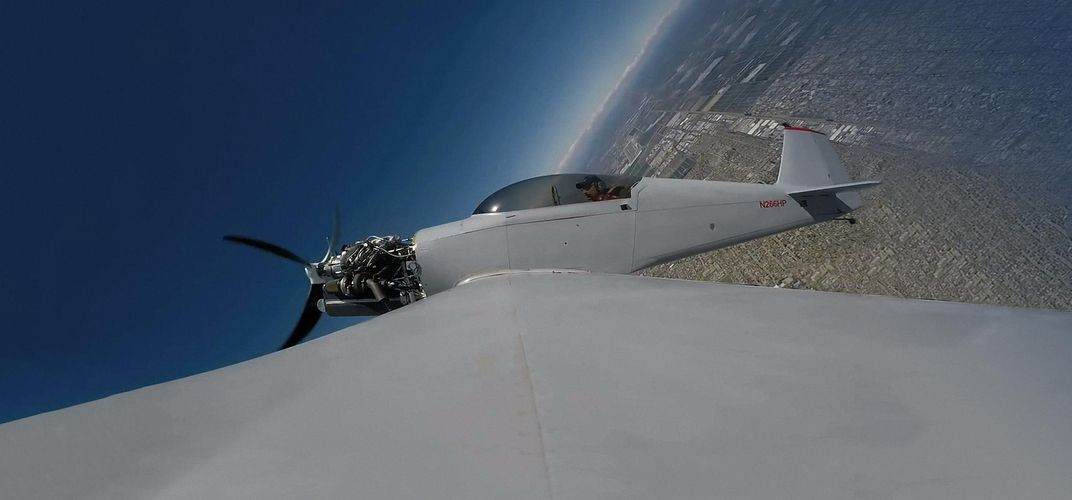 Caption: Kitplane Sets New Time-to-Climb Record