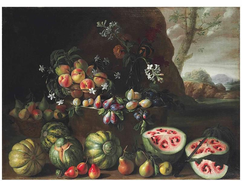 Stanchi Watermelon Painting