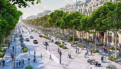Paris' Champs-Élysées to Be Transformed Into an 'Extraordinary Garden'