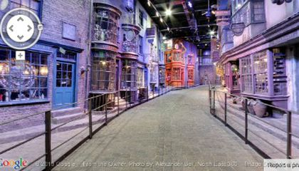 Wander Harry Potter's Diagon Alley With Street View