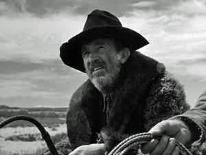 Walter Brennan in My Darling Clementine.