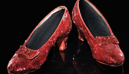 Dorothys Ruby Slippers