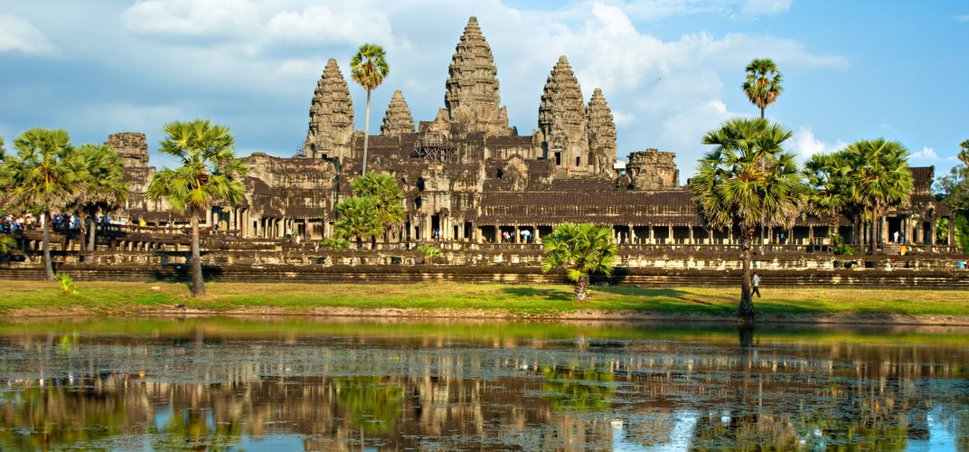 View of Angkor Wat