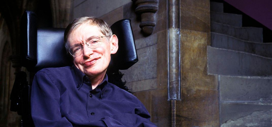 Caption: Stephen Hawking: How It All Began