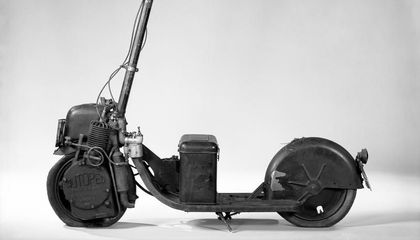 The Motorized Scooter Boom That Hit a Century Before Dockless Scooters