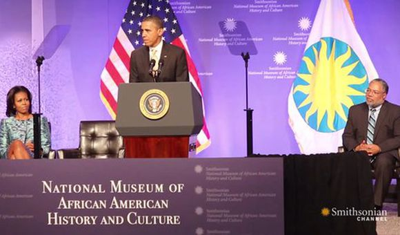 Preview thumbnail for video'The Groundbreaking for the National Museum of African American History and Culture
