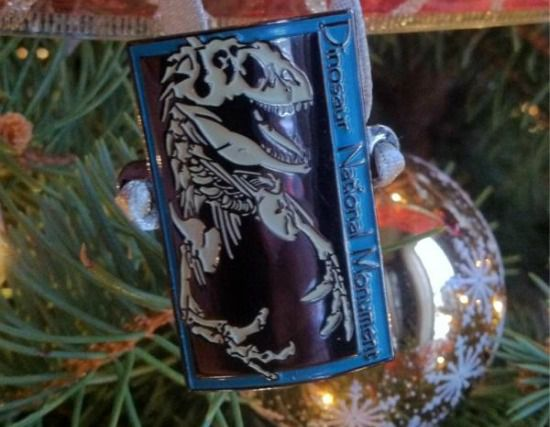 when it came time to pick a 2011 christmas tree ornament the choice was clear i needed a dinosaur photo by the author