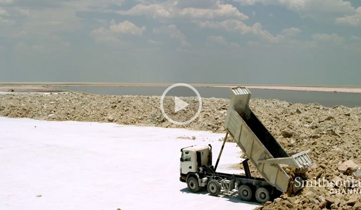 You Won't Believe the Size of Botswana's Salt Flats