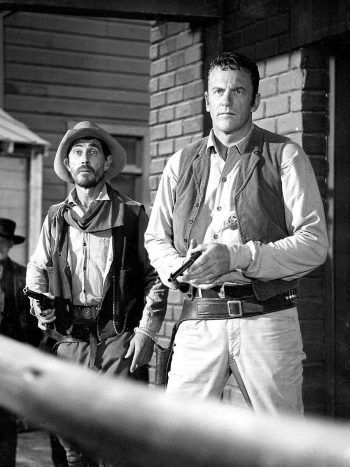 Ken Curtis and James Arness